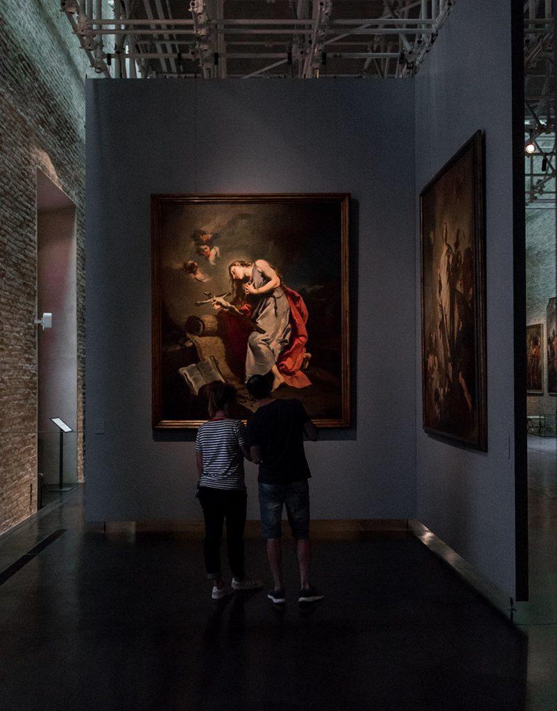 Fabian Fröhlich, Galleria Nazionale di Parma, Palazzo dell Pilotta, Giovan Battista Pittoni, Maria Maddalena