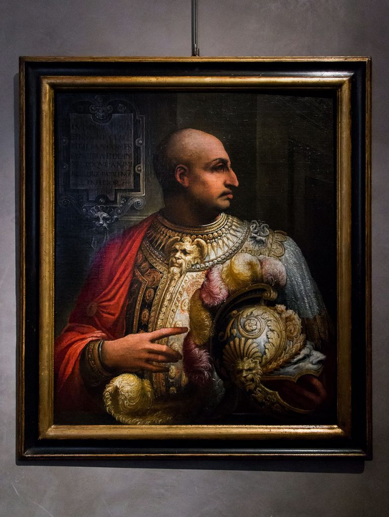 Fabian Fröhlich, Galleria Nazionale di Parma, Palazzo dell Pilotta, Francesco Salviati, Portrait of Ludovico Orsini