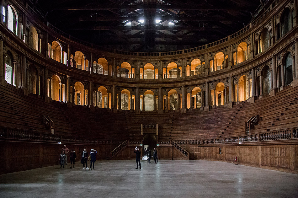 Fabian Fröhlich, Parma, Palazzo della Pilotta, Teatro Farnese