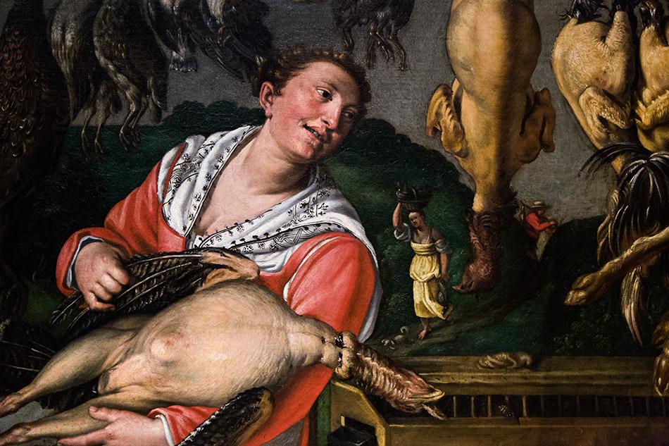 Fabian Fröhlich, Pinacoteca di Brera di Milano, Pollivendoli, Vincenzo Campi