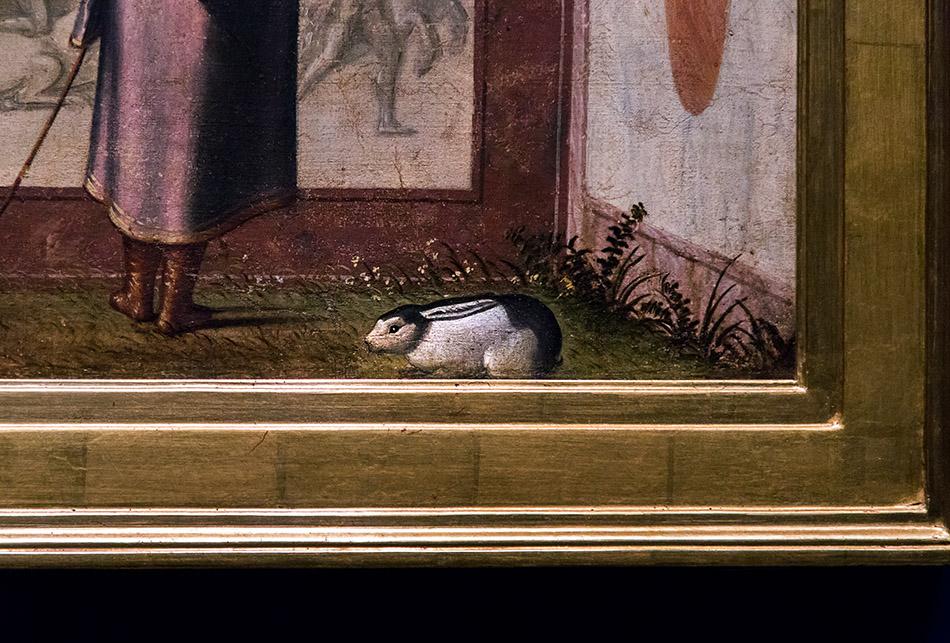 Fabian Fröhlich, Pinacoteca di Brera di Milano, Presentazione della Vergine al tempio, Vittore Carpaccio