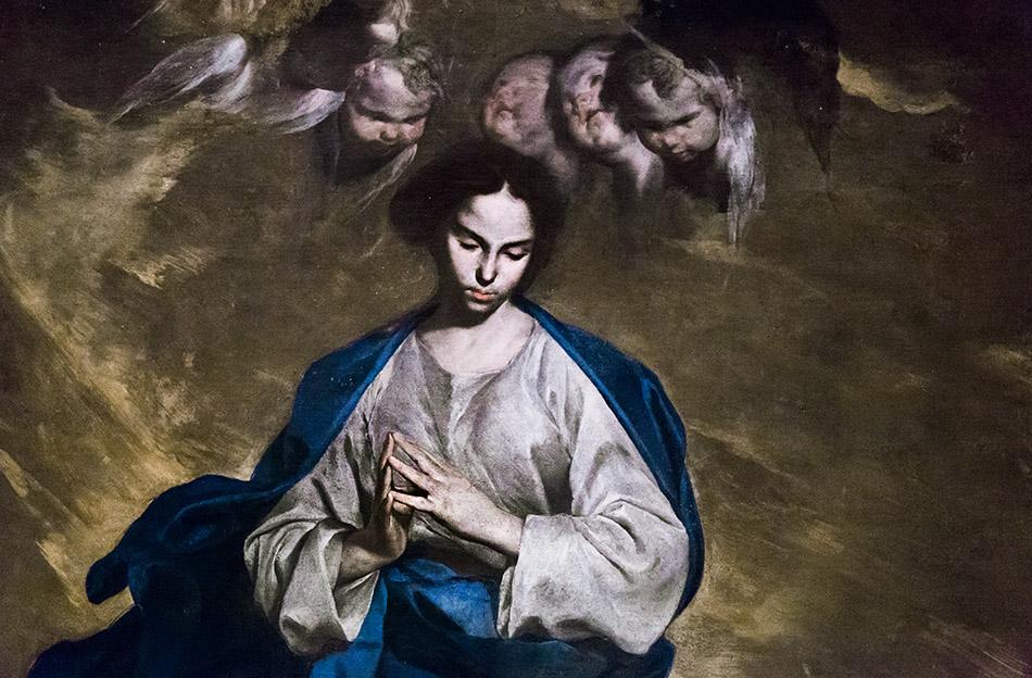 Fabian Fröhlich, Pinacoteca di Brera di Milano, Bernardo Cavallino, Immacolata