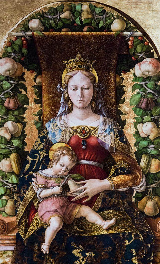 Fabian Fröhlich, Pinacoteca di Brera di Milano, Carlo Crivelli, Madonna della Candeletta