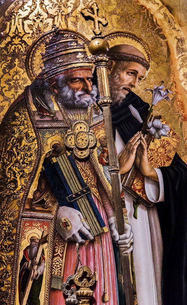 Fabian Fröhlich, Pinacoteca di Brera di Milano, Trittico di Camerino (Trittico di San Domenico), Carlo Crivelli