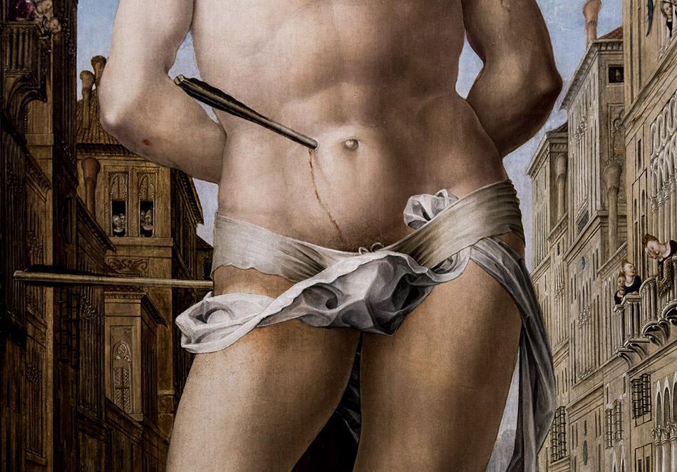 Fabian Fröhlich, Pinacoteca di Brera di Milano, Liberale da Verona, San Sebastiano