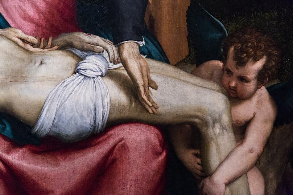 Fabian Fröhlich, Pinacoteca di Brera di Milano, Lorenzo Lotto, Pietà