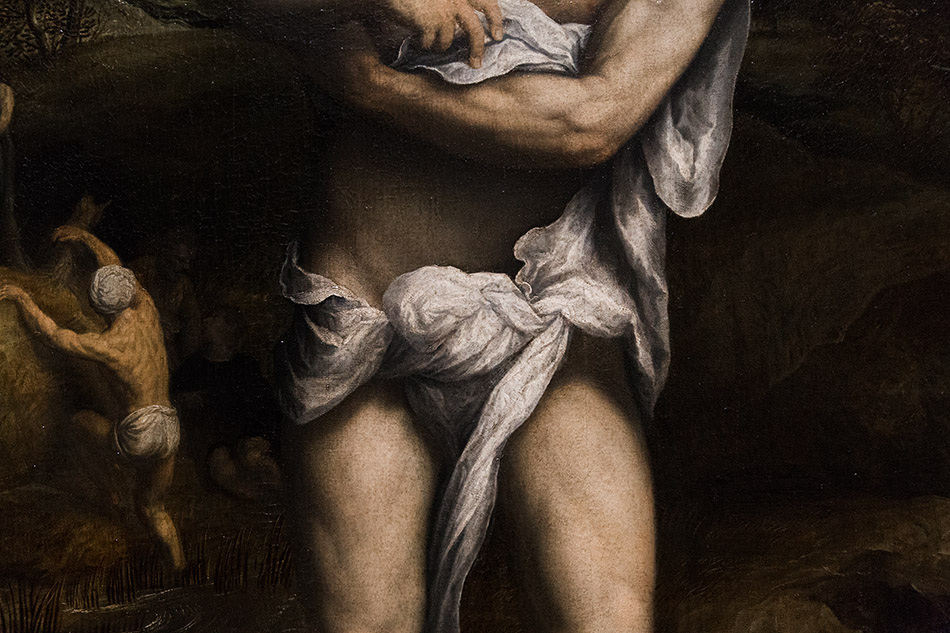 Fabian Fröhlich, Pinacoteca di Brera di Milano, Paris Bordon, Baptims of Christ
