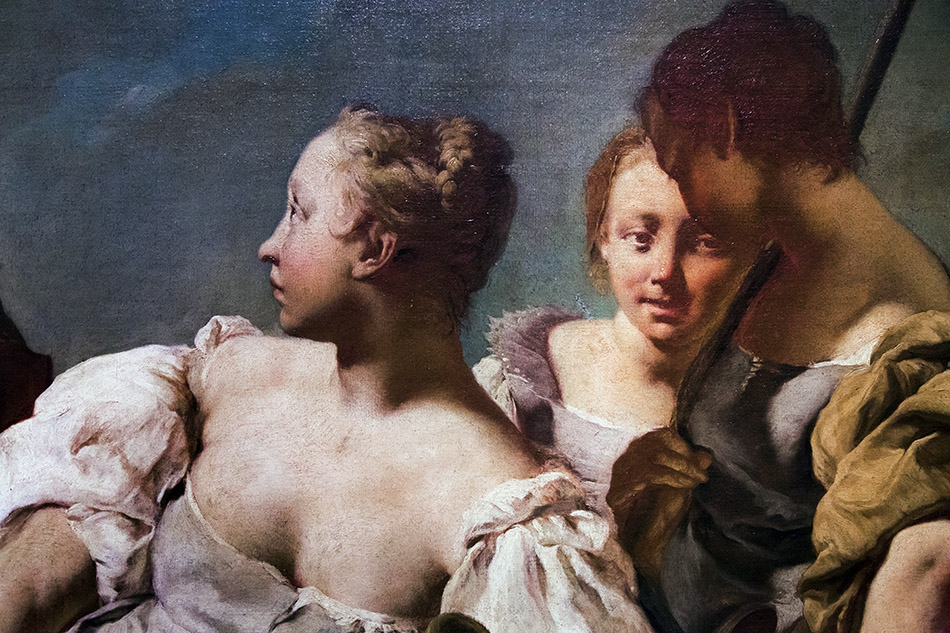Fabian Fröhlich, Pinacoteca di Brera di Milano, Giovanni Battista Piazzetta, Rebecca ed Elezearo al pozzo