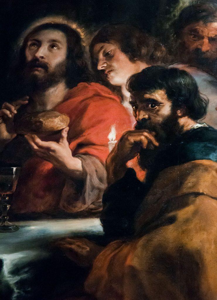 Fabian Fröhlich, Pinacoteca di Brera di Milano, Peter Paul Rubens, Last Supper