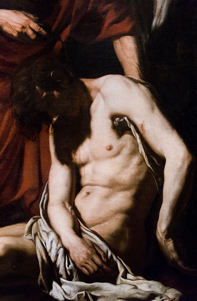 Fabian Fröhlich, Pinacoteca di Brera di Milano, Joachim von Sandrart, Il buon samaritano