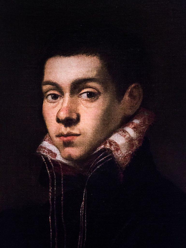 Fabian Fröhlich, Pinacoteca di Brera di Milano, Tintoretto (Jacopo Robusti), Ritratto di giovane