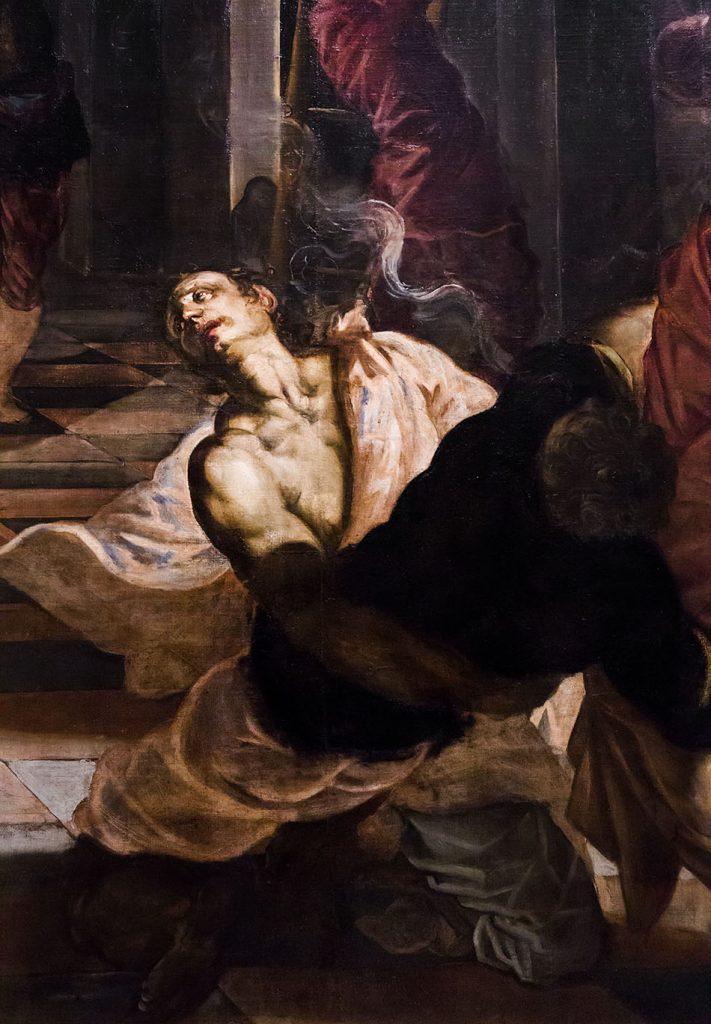 Fabian Fröhlich, Pinacoteca di Brera di Milano, Tintoretto (Jacopo Robusti), Il Ritrovamento del corpo di San Marco