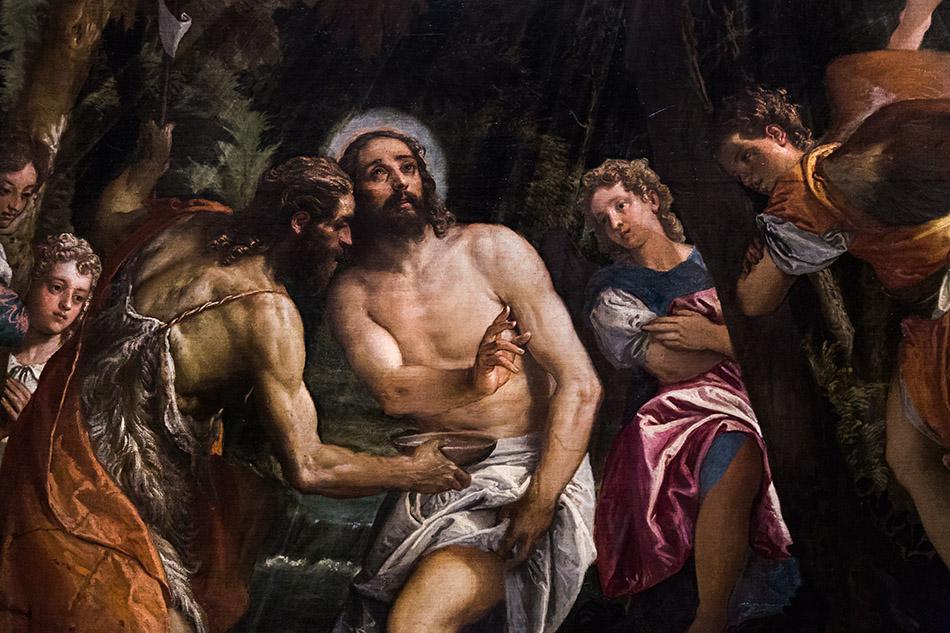 Fabian Fröhlich, Pinacoteca di Brera di Milano, Veronese (Paolo Caliari), Battesimo e Tentazioni di Cristo