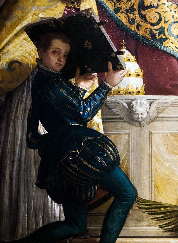 Fabian Fröhlich, Pinacoteca di Brera di Milano, Veronese (Paolo Caliari), Sant'Antonio abate tra i Santi Cornelio e Cipriano