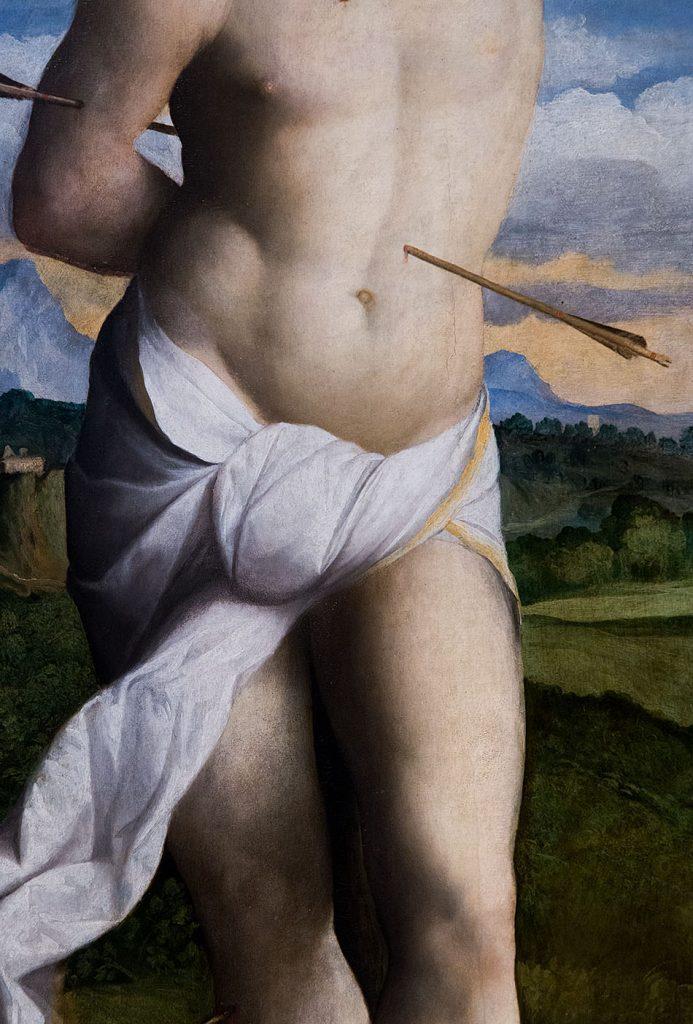 Fabian Fröhlich, Pinacoteca di Brera di Milano, Palma il Vecchio, San Sebastiano
