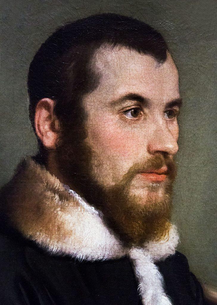 Fabian Fröhlich, Pinacoteca di Brera di Milano, Giovan Battista Moroni, Ritratto di giovane