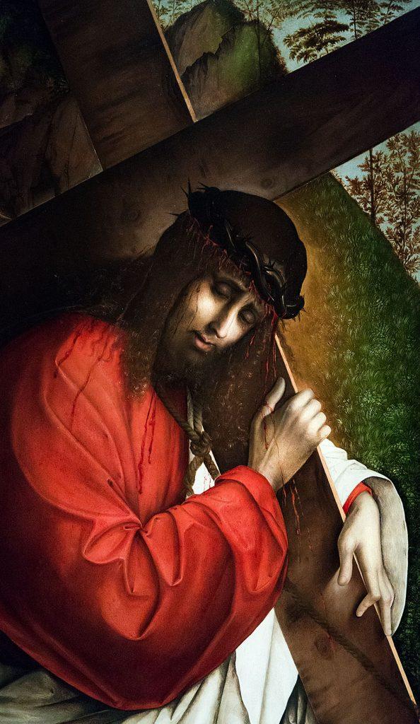 Fabian Fröhlich, Pinacoteca di Brera di Milano, Francesco Zaganelli, Cristo portacroce