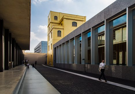 Fabian Fröhlich, Milano, Fondazione Prada, Courtyard, Courtyard and Haunted House