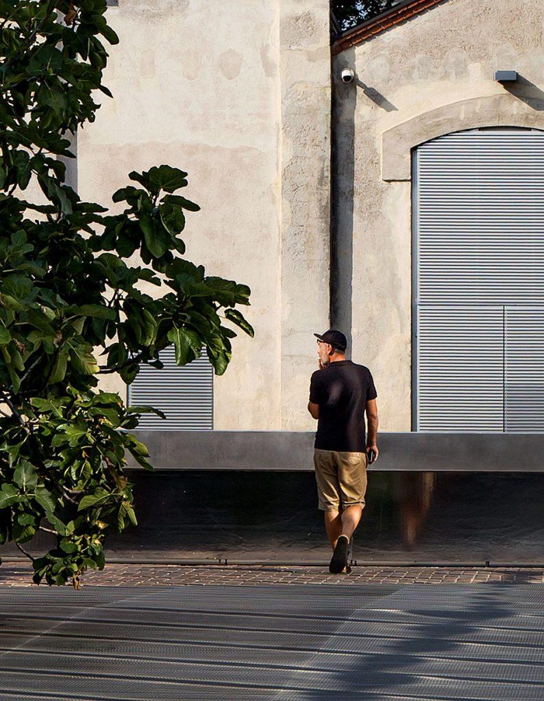 Fabian Fröhlich, Milano, Fondazione Prada, Courtyard