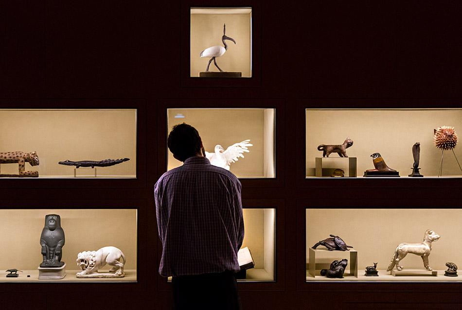 Fabian Fröhlich, Milano, Fondazione Prada, Il sarcofago di Spitzmaus e altri tesori