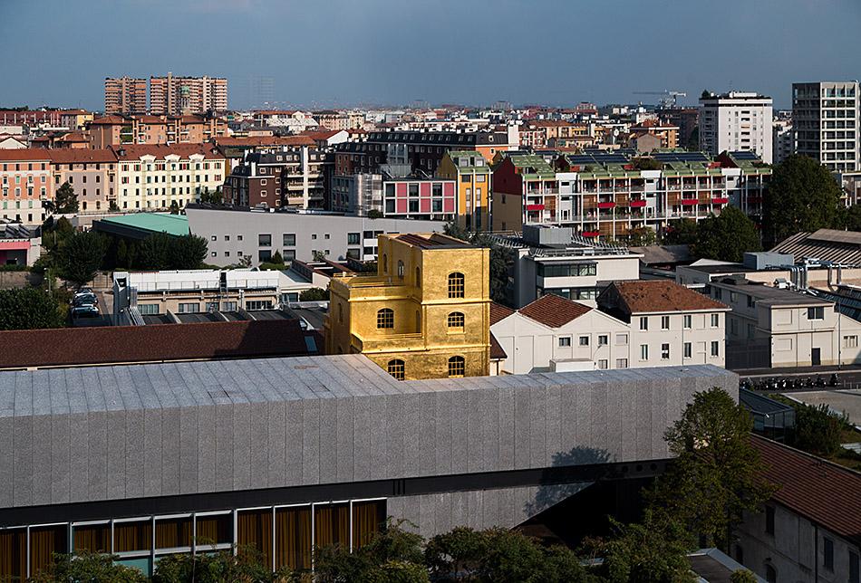 Fabian Fröhlich, Milano, Fondazione Prada View from Torre,