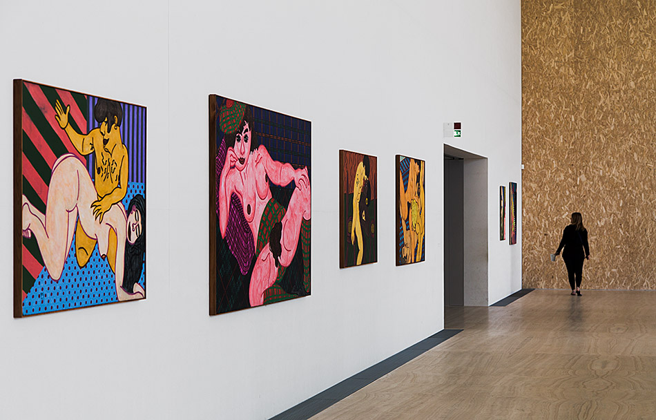 Fabian Fröhlich, Milano, Fondazione Prada, Atlas, William N. Copley, installation view