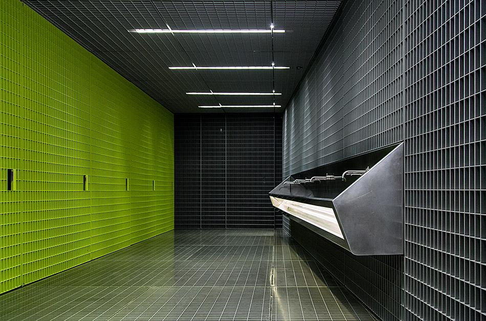 Fabian Fröhlich, Milano, Fondazione Prada, Bathroom