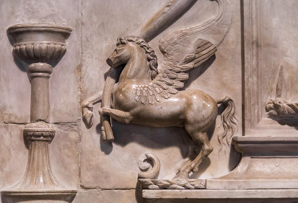 Fabian Fröhlich, Castello Sforzesco Milano, Il Bambaja, Tomb of Lancino Curzio