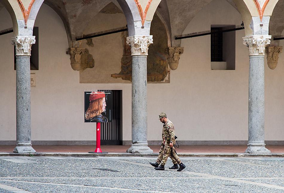 Fabian Fröhlich, Castello Sforzesco Milano,