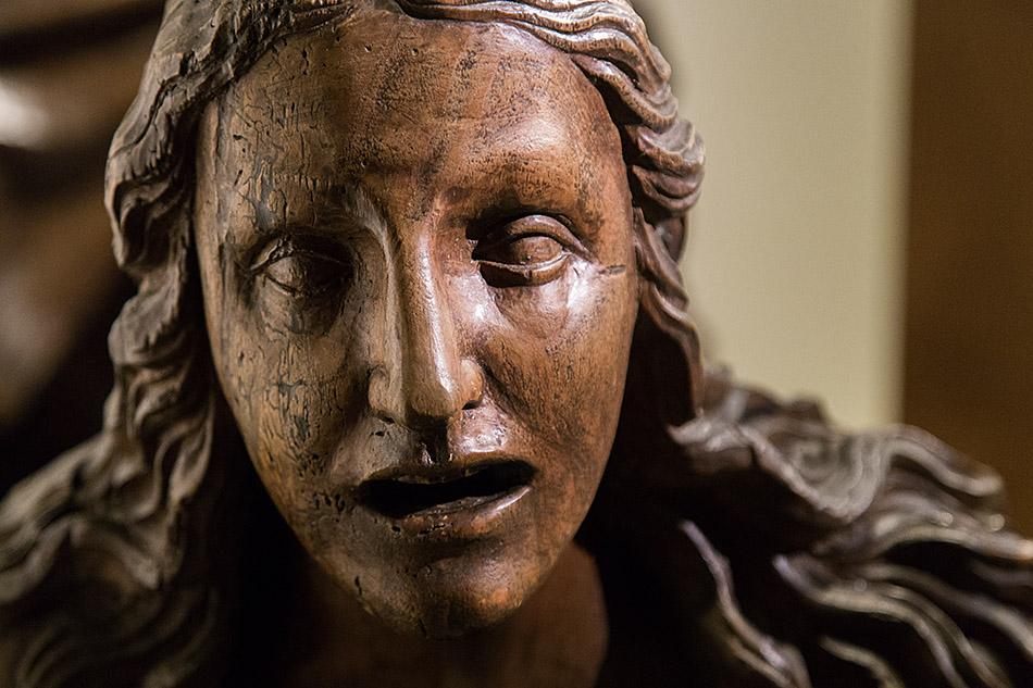 Fabian Fröhlich, Castello Sforzesco Milano, Museo dei Mobili e delle Sculture Lignee, Giovanni Angelo del Maino, Mary Magdalene