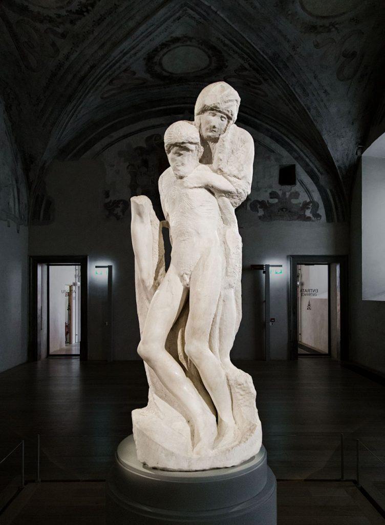 Fabian Fröhlich, Castello Sforzesco Milano, Michelangelo, Pietà Rondanini
