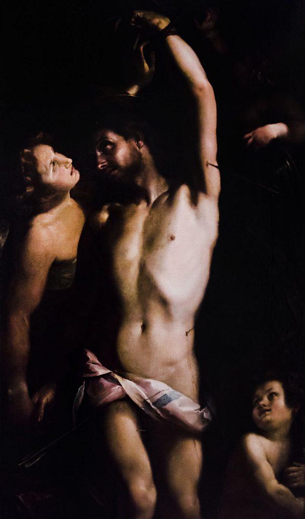 Fabian Fröhlich, Castello Sforzesco Milano, Pinacoteca, Giulio Cesare Procaccini, Saint Sebastian