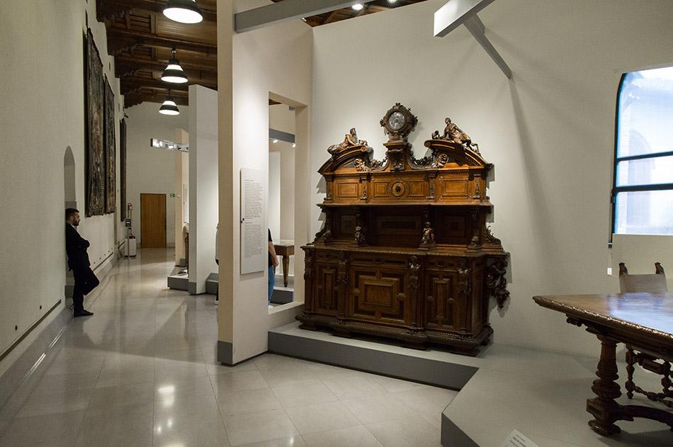 Fabian Fröhlich, Castello Sforzesco Milano, Museo dei Mobili e delle Sculture Lignee