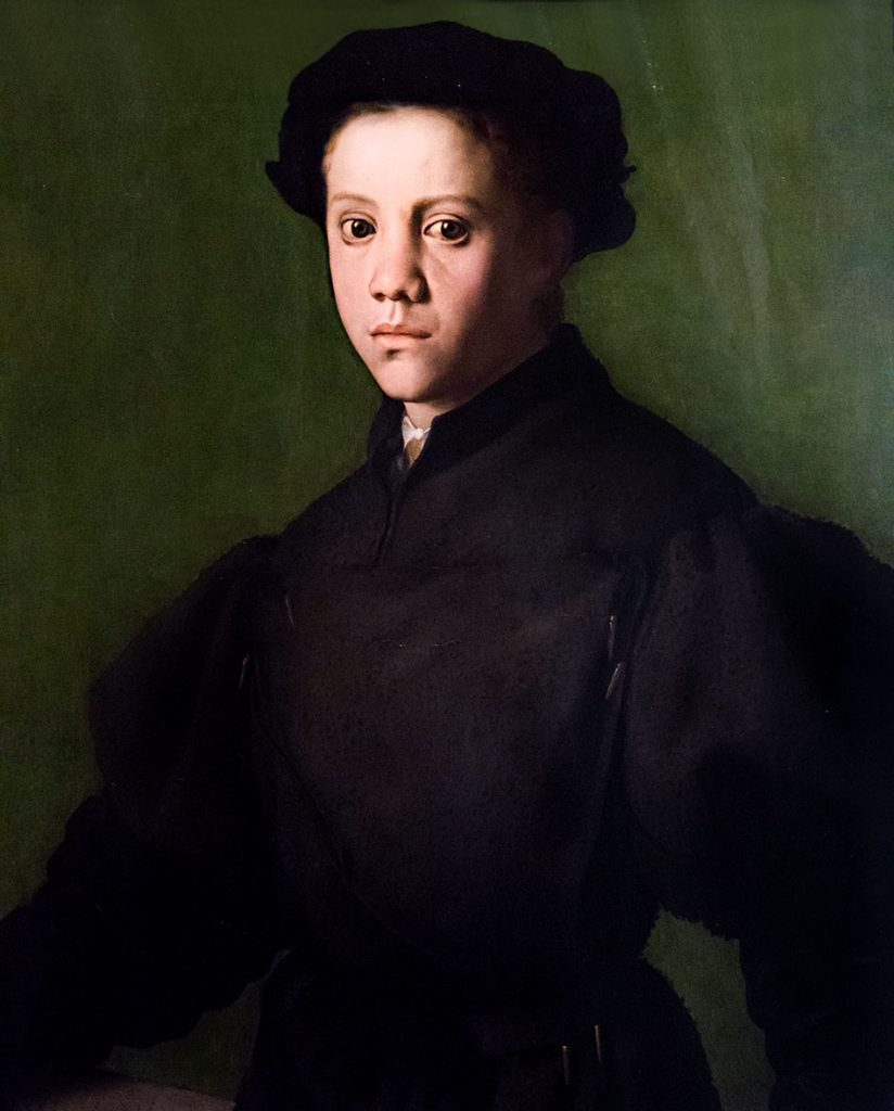 Fabian Fröhlich, Castello Sforzesco Milano, Pinacoteca, Bronzino, Portrait of Lorenzo Lenzi