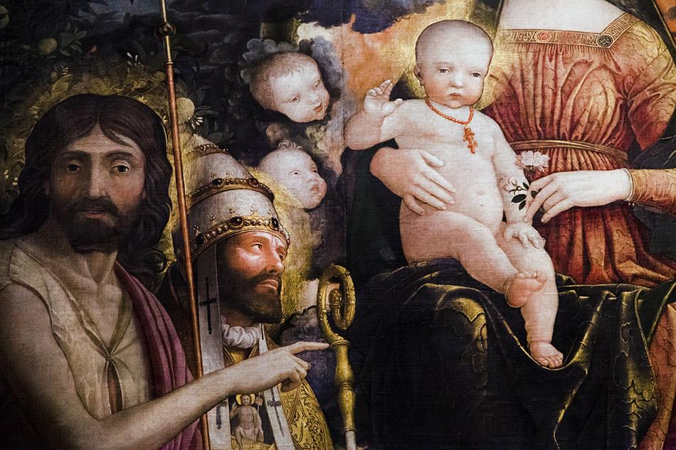 Fabian Fröhlich, Castello Sforzesco Milano, Pinacoteca, Andrea Mantegna, Trivulzio Madonna