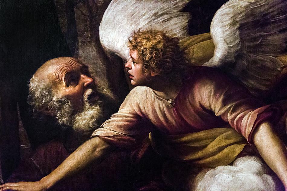 Fabian Fröhlich, Castello Sforzesco Milano, Pinacoteca, Giuseppe Vermiglio, The Sacrifice of Isaac