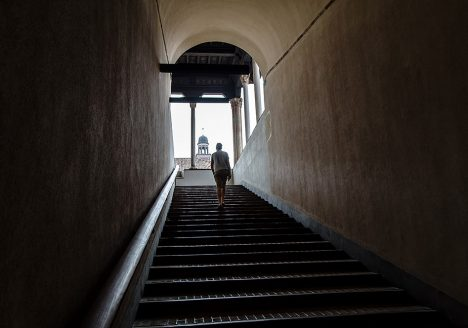 Fabian Fröhlich, Castello Sforzesco, Stairs