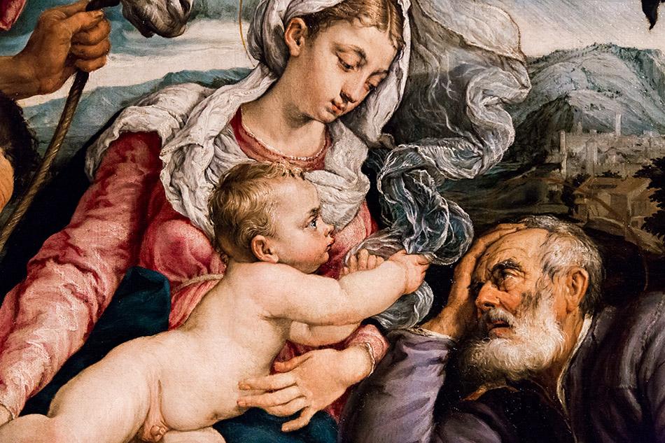 Fabian Fröhlich, Pinacoteca Ambrosiana, Milano, Bassano, The Rest on the Flight into Egypt