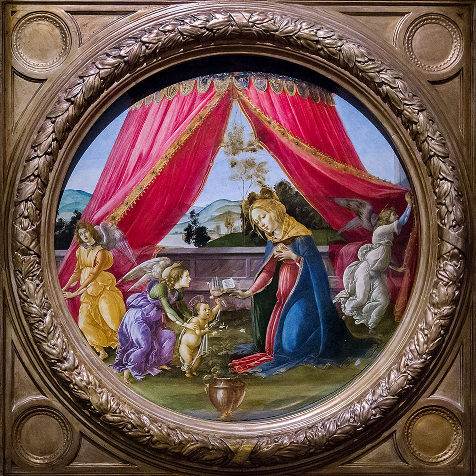 Fabian Fröhlich, Pinacoteca Ambrosiana, Milano, Sandro Botticelli, The Madonna of the Pavilion