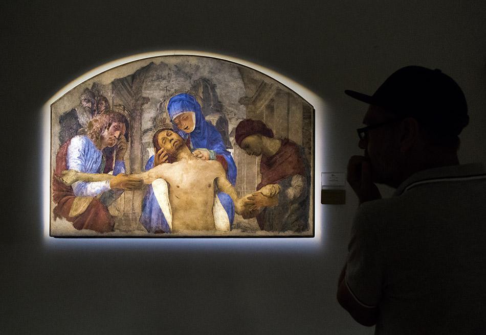 Fabian Fröhlich, Pinacoteca Ambrosiana, Milano, Bramantino, Pietà