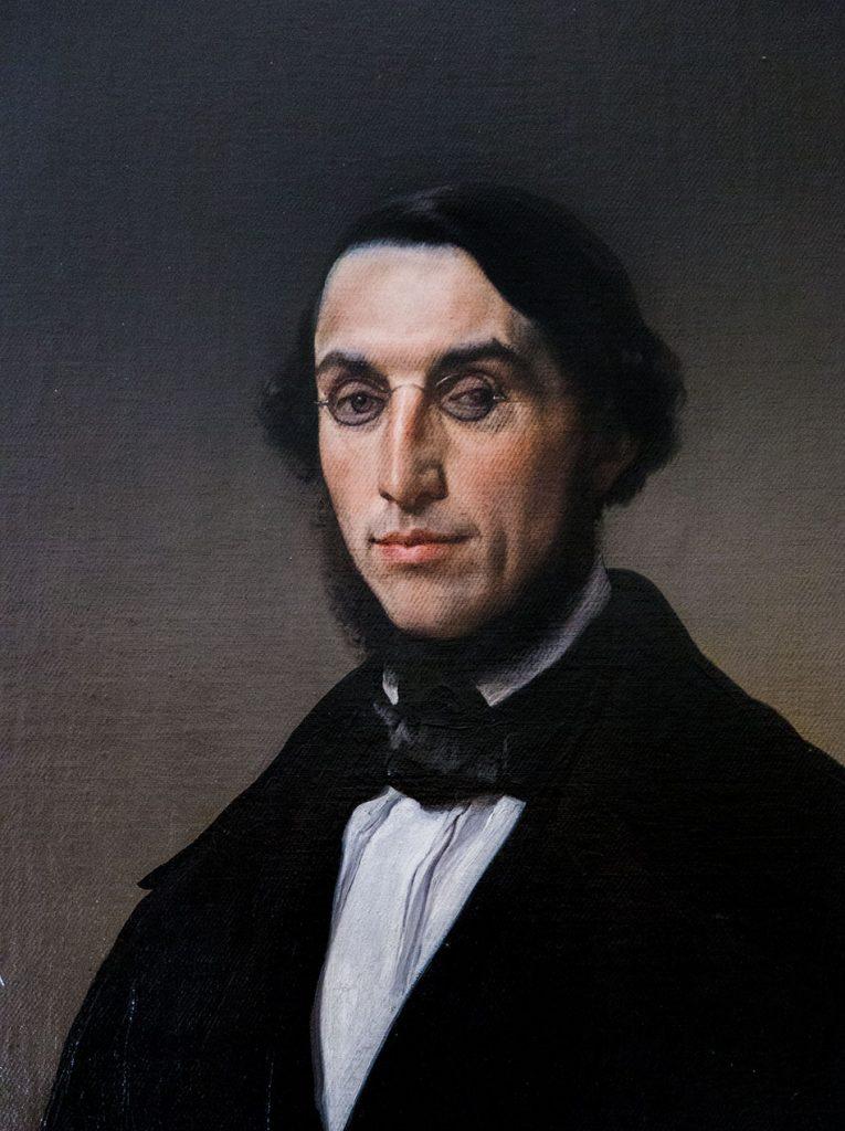 Fabian Fröhlich, Pinacoteca Ambrosiana, Milano, Francesco Hayez, Portrait of Giovanni Battista Morosini