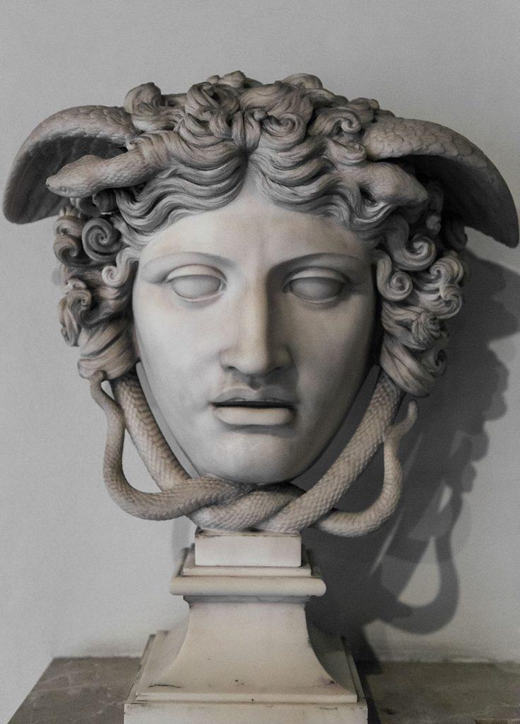 Fabian Fröhlich, Pinacoteca Ambrosiana, Milano, Medusa Rondanini