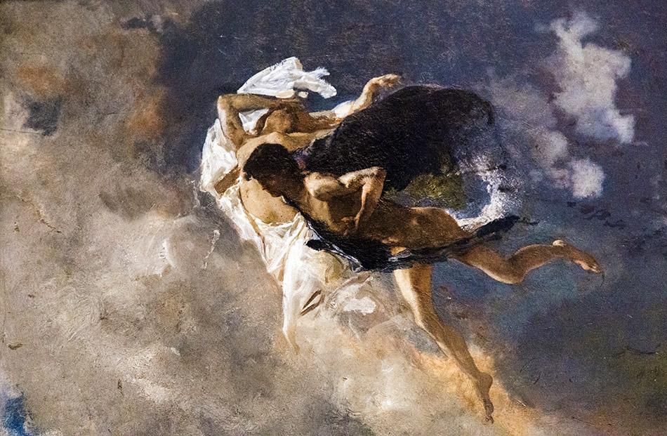 Fabian Fröhlich, Pinacoteca Ambrosiana, Milano, Mosè Bianchi, Paola Francesco