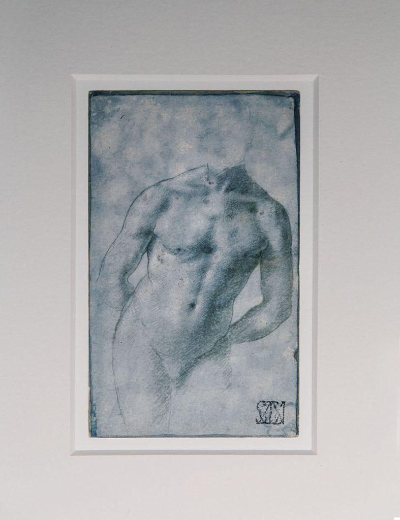 Fabian Fröhlich, Pinacoteca Ambrosiana, Milano, Marco d'Oggiono, Stufy of a male torso for a St. Sebastian