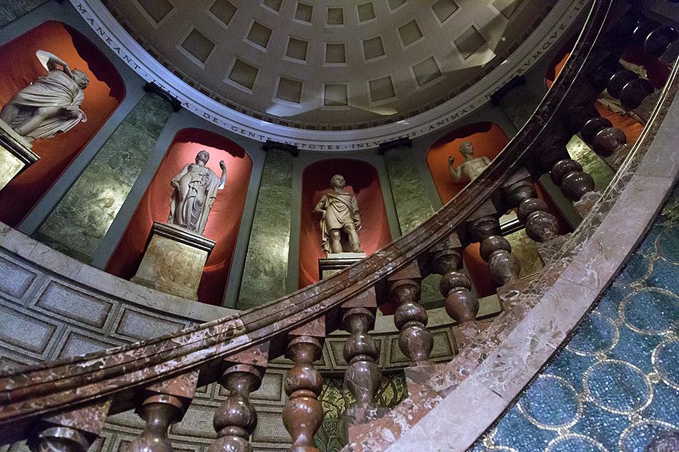 Fabian Fröhlich, Pinacoteca Ambrosiana, Milano, Staircase