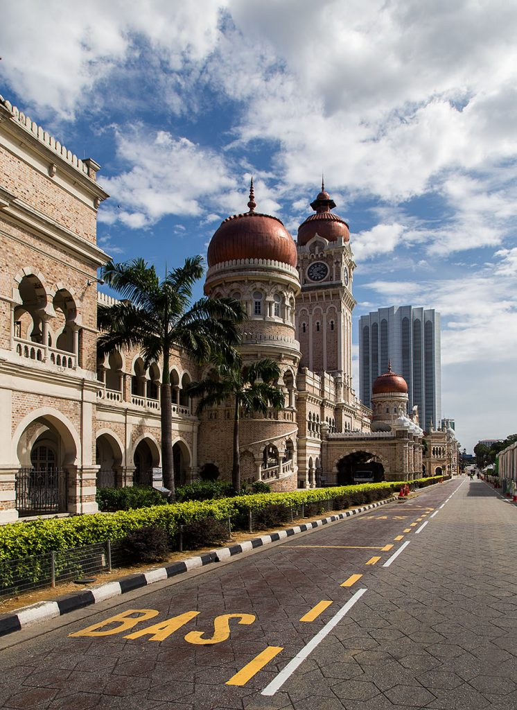 Fabian Fröhlich, Kuala Lumpur, Sultan Abdul Samad Building
