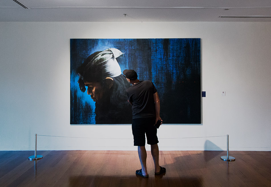 Fabian Fröhlich, Kuala Lumpur, Bank Negara Malaysia Museum and Art Gallery, Bayu Utomo Radjikin, Infinity VIII