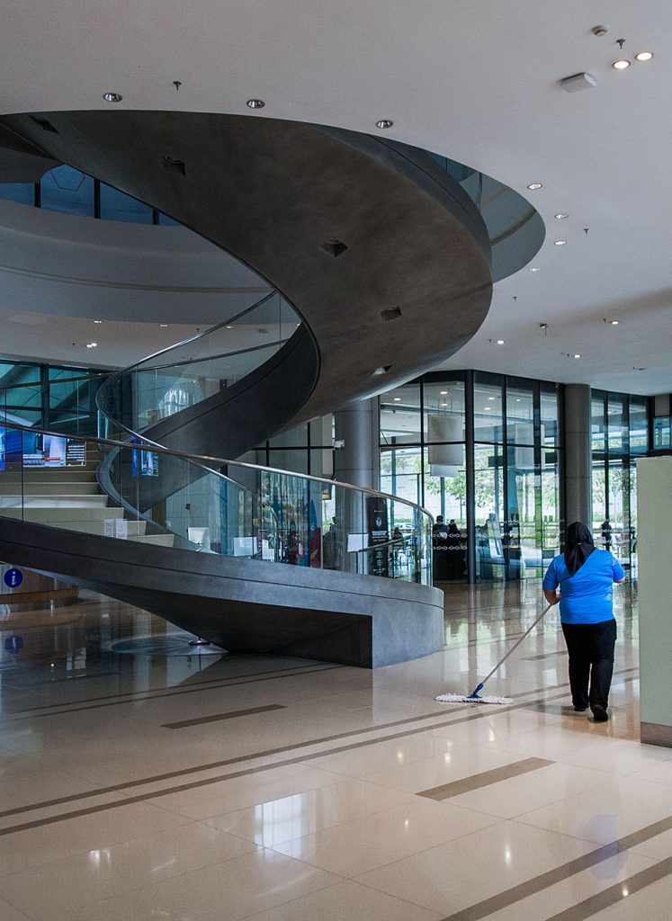 Fabian Fröhlich, Kuala Lumpur, Bank Negara Malaysia Museum and Art Gallery, Foyer and Staircase