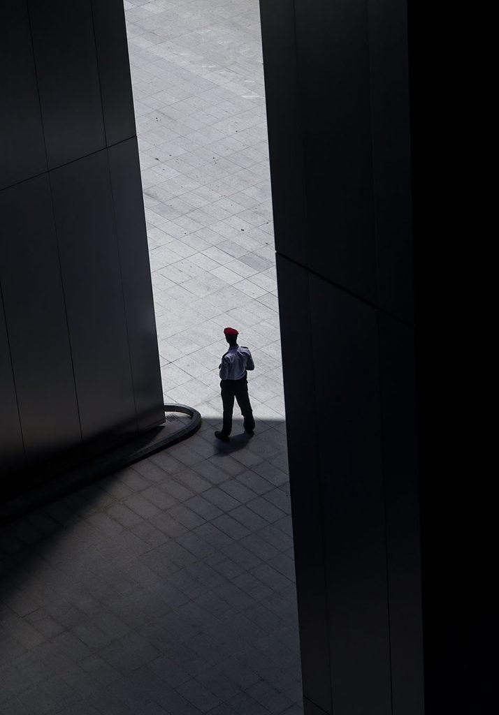 Fröhlich, Kuala Lumpur, Ilham Tower, Guard