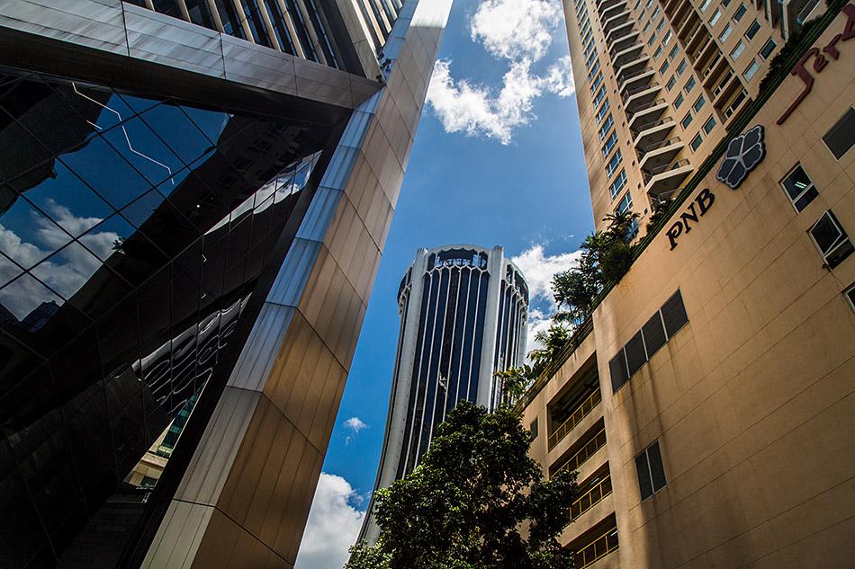 Fabian Fröhlich, Kuala Lumpur, Ilham Tower, View to Lembaga Hasil Dalam Negeri